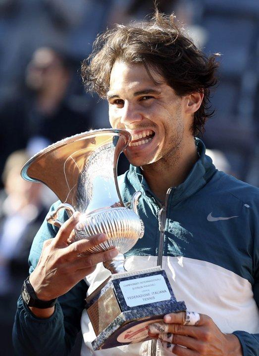 PHOTOS: Rafael Nadal wins 2013 Rome Title – Rafael Nadal Fans Nadal 2013