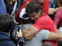 Il dépasse ainsi Bjorn Borg et devient le roi incontesté de la terre battue au regard de l'histoire. Cette victoire met également fin à une série de trois défaites en finale de Grand Chelem face à Djokovic. Il peut tomber dans les bras de son oncle Toni.