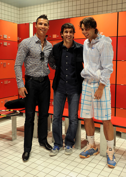 1edbf0288 Sports stars Cristiano Ronaldo and Rafael Nadal are Twitter stars too.  Getty Images