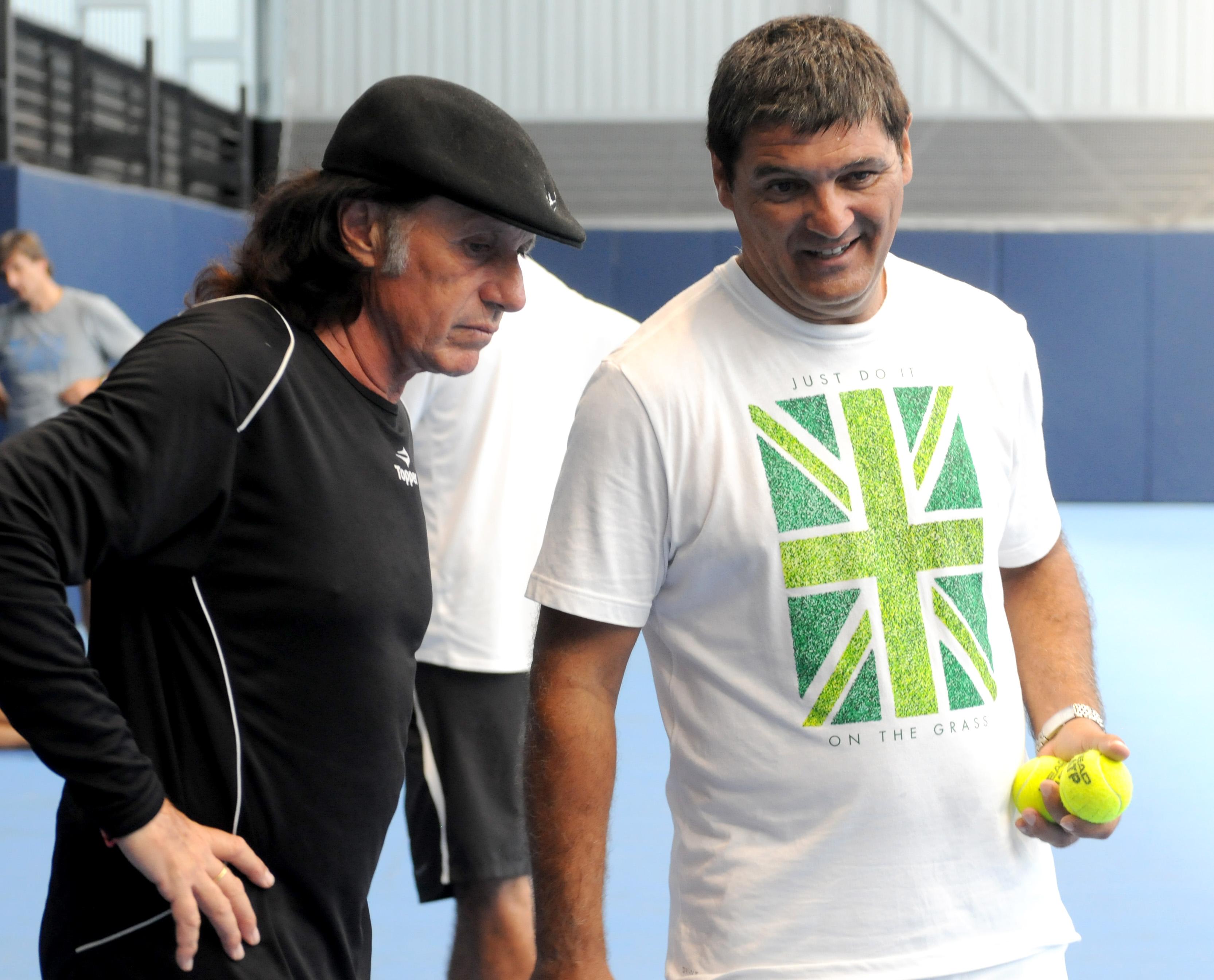 Guillermo Vilas visits Rafael Nadal in Manacor – Rafael Nadal Fans