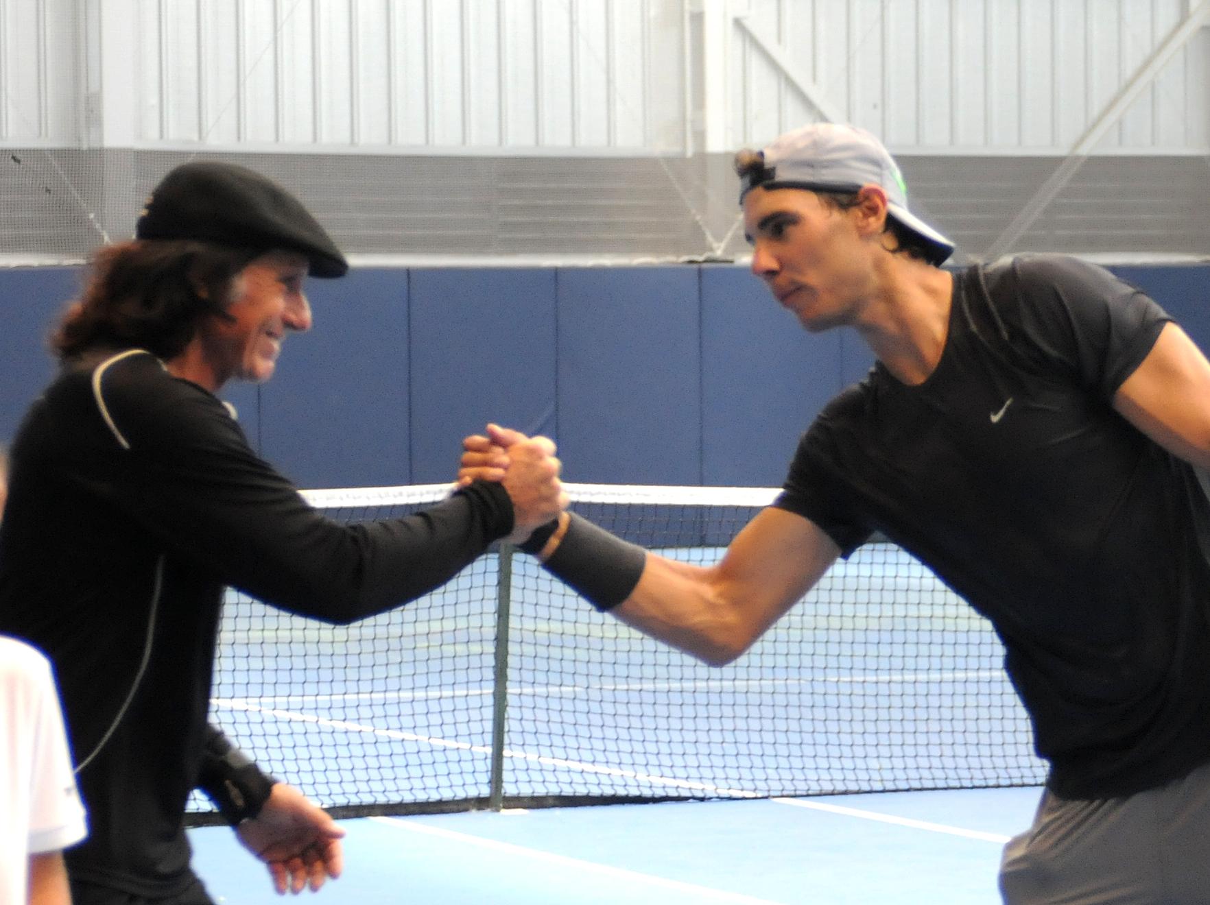 Guillermo Vilas – Rafael Nadal Fans