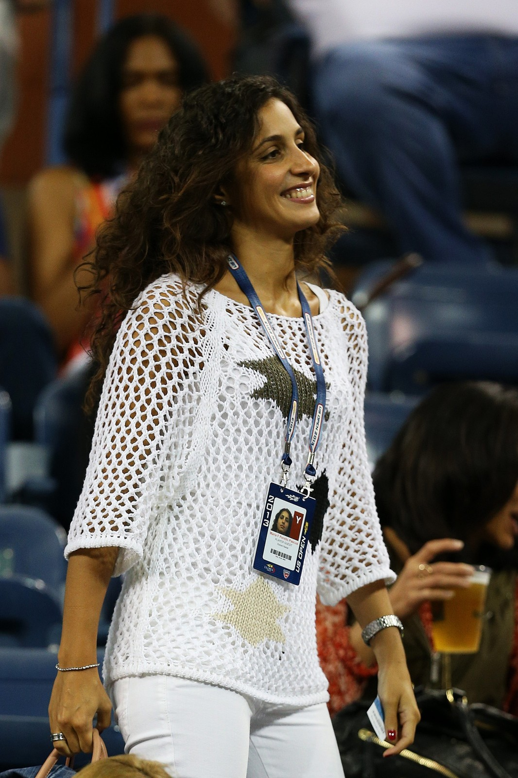Maria Francisca Perello cheers on Rafael Nadal in New York ... Nadal Girlfriend 2013