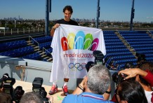Rafael Nadal supports Madrid 2020 bid from the US Open (6)