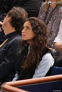 Rafael Nadal's girlfriend Maria Francisca Perello in Paris 2013 (2)