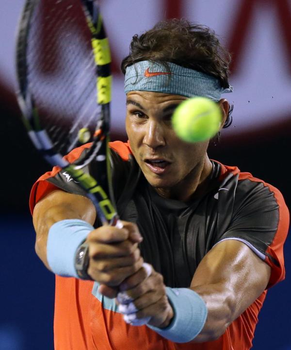 Photos Rafael Nadal Defeats Thanasi Kokkinakis In R2 At