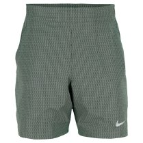 NIKE Men's Gladiator Premier 7 Inch Tennis Short Dark Mica Green (Photo: TennisExpress.com)