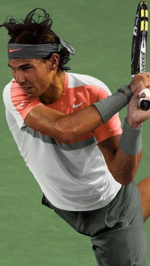 Rafael Nadal Indian Wells 2014 Nike outfit