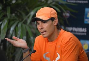 Rafael Nadal Interview Indian Wells 2014 (2)