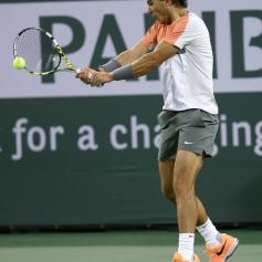 Rafael Nadal v Alexandr Dolgopolov Indian Wells 7