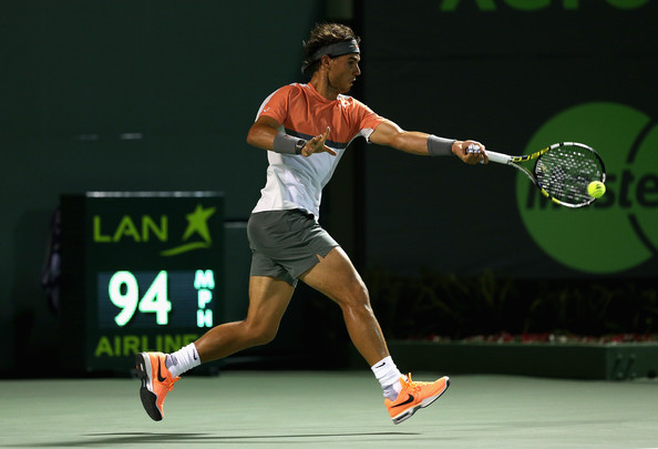 Nadal vs Hewitt ATP Miami 2014 2R Photo