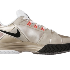 Nike Lunar Ballistec Metallic Zinc/Wh/Bk Men's Shoe