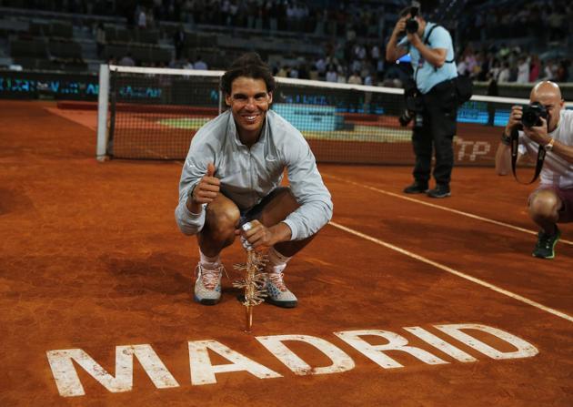 Rafa Nadal, campéon Mutua Madrid Open 2014