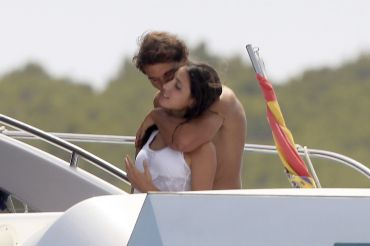 Rafael Nadal and his girlfriend Maria Francisca Perello (16)