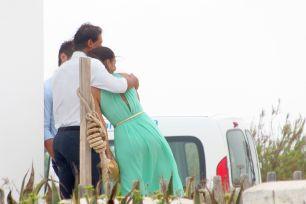 Rafael Nadal and his girlfriend Maria Francisca Perello at Friends' Wedding (6)