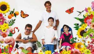 Rafael Nadal Poses For The 2015 APNEEF Calendar