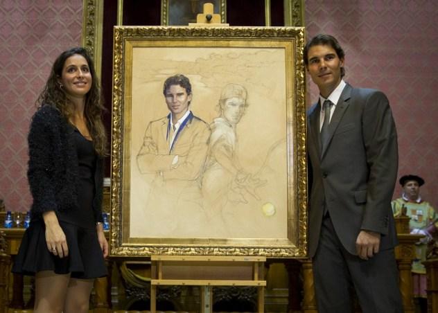 Rafael Nadal and Maria Francisca Perello - Favorite Son of Mallorca (6)