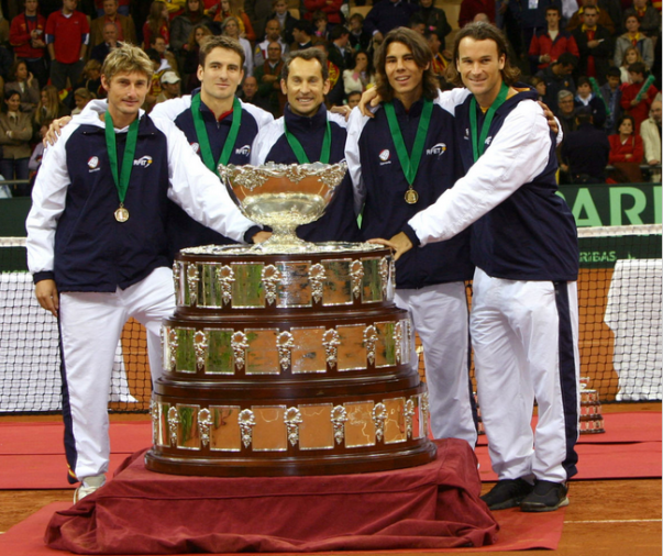 Rafael Nadal Wins First Davis Cup Title (9)