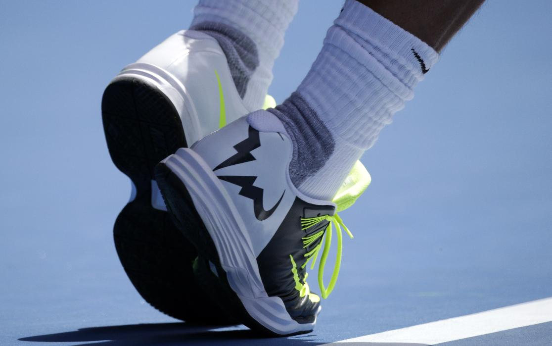 Rafael Nadal Shoes Nike Australian Open 2015