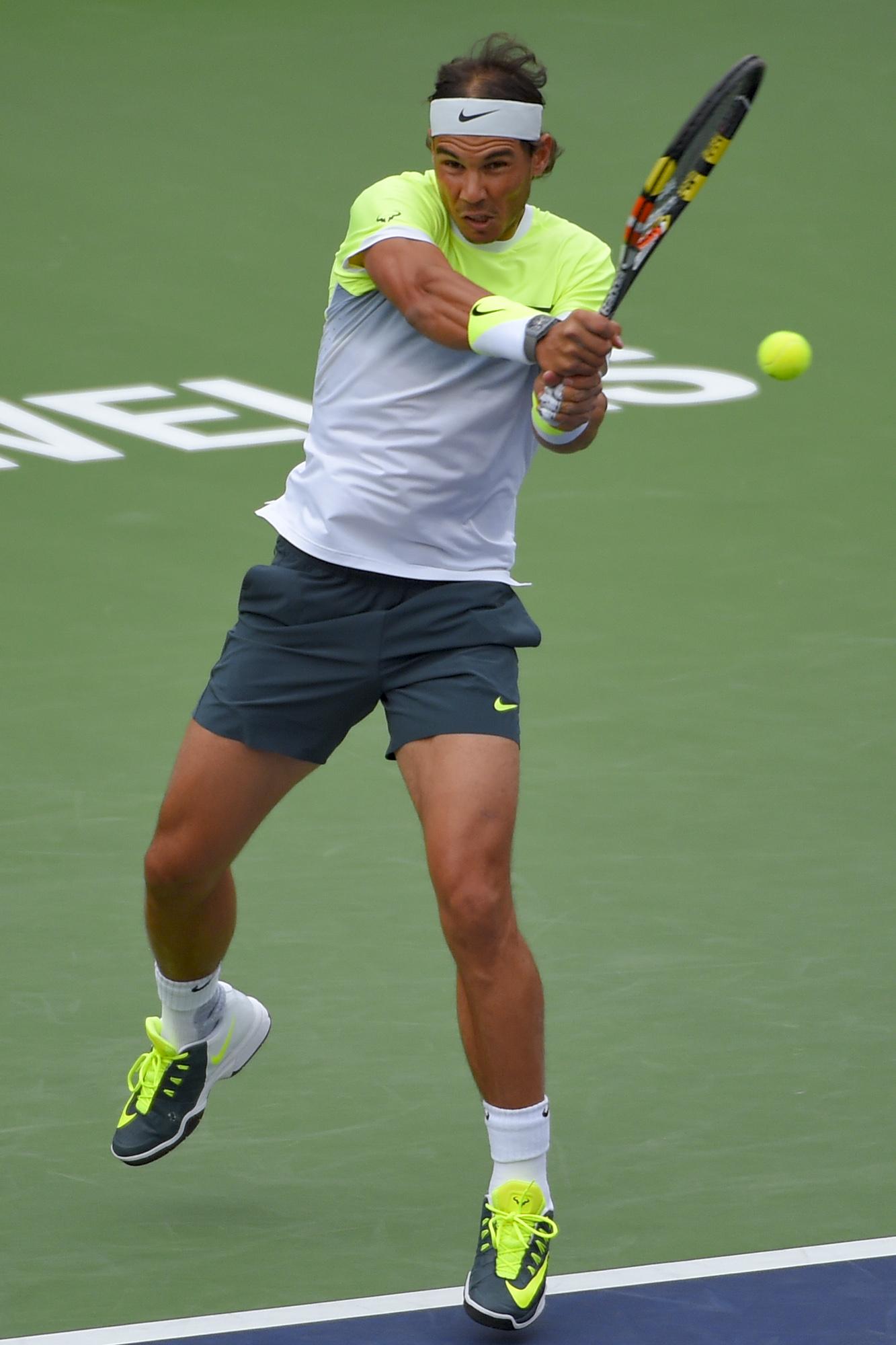 PHOTOS: Rafael Nadal beats Gilles Simon to reach Indian Wells quarterfinals – Rafael Nadal Fans