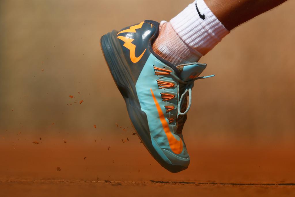 Rafael Nadal Nike shoes Monte Carlo 2015
