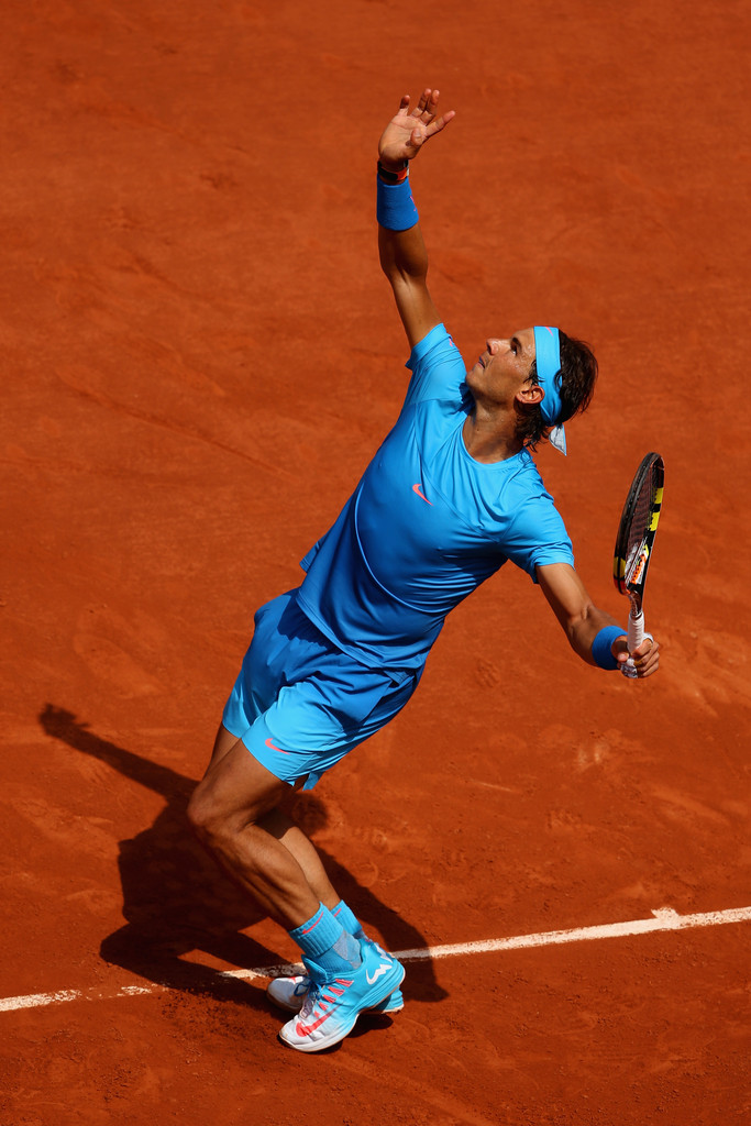 french open rafael nadal starts title defence with win photos rafael nadal fans. Black Bedroom Furniture Sets. Home Design Ideas