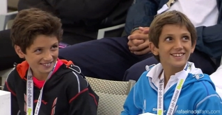 Rafael Nadal's cousins support him in Hamburg