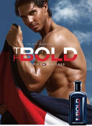 Rafael Nadal the new face of Tommy Hilfiger men's fragrance