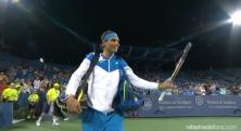 Rafael Nadal Cincinnati first match 2015