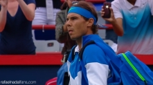Rafael Nadal in action against Sergiy Stakhovsky at Rogers Cup in Montreal (4)