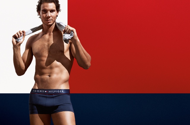 Rafael Nadal underwear Tommy Hilfiger