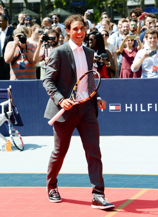 Rafael Nadal unveils his new Tommy Hilfiger campaign in ...