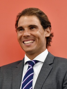 NEW YORK, NY - AUGUST 25: Professional tennis player Rafael Nadal speaks as he makes a personal appearance at Macy's Herald Square at on August 25, 2015 in New York City. (Photo by Mike Coppola/Getty Images for Tommy Hilfiger)