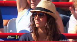 Rafael Nadal's girlfriend Maria Francisca Perello at Rogers Cup in Montreal 2015