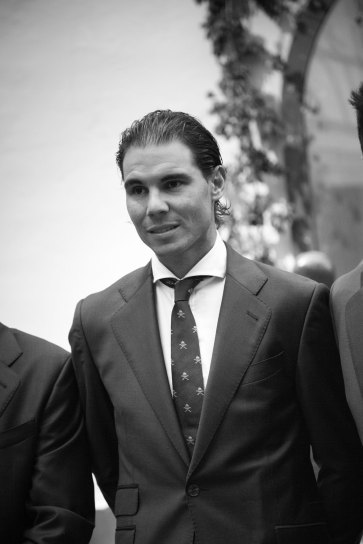 Rafael Nadal Poses Before Davis Cup Dinner (18)