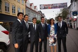 Rafael Nadal Poses Before Davis Cup Dinner (3)