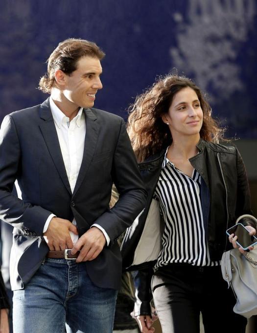 Rafael Nadal and his girlfriend Maria Francisca Perello ...
