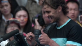 Rafael Nadal beats Fabio Fognini to move into China Open final in Beijing 2015
