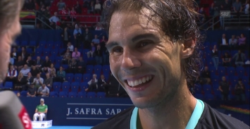 Rafael Nadal beats Grigor Dimitrov in three sets to reach Basel quarter-final (2)