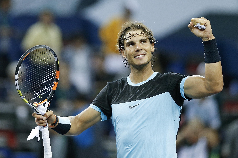 Nadal: Rafael Nadal Into Shanghai Masters Semis [PHOTOS]