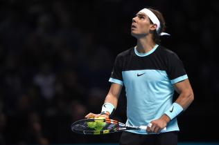 Tennis - Barclays ATP World Tour Finals - O2 Arena, London - 21/11/15 Men's Singles - Spain's Rafael Nadal during his match against Serbia's Novak Djokovic Action Images via Reuters / Tony O'Brien Livepic EDITORIAL USE ONLY.