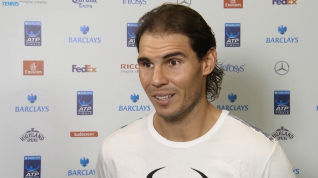 Rafael Nadal Interview ATP Finals Round Robin Win Over Stan Wawrinka 2015