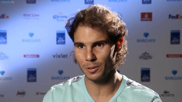 Rafael Nadal interview ATP Finals RR2