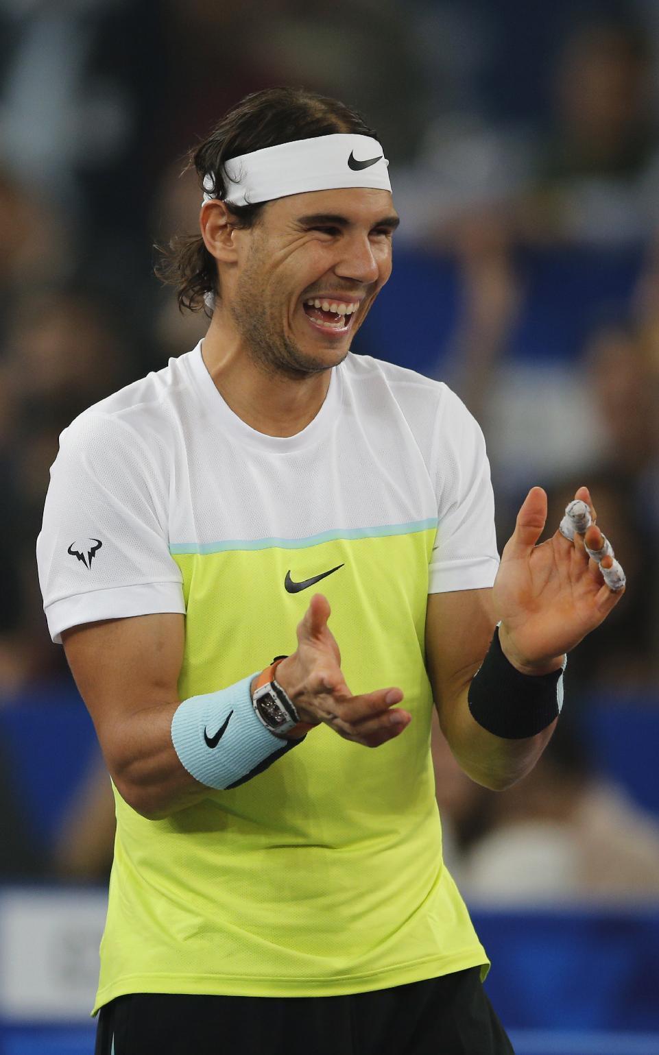 IPTL 2015: Rafael Nadal beats Roger Federer in New Delhi [PHOTOS] – Rafael Nadal Fans