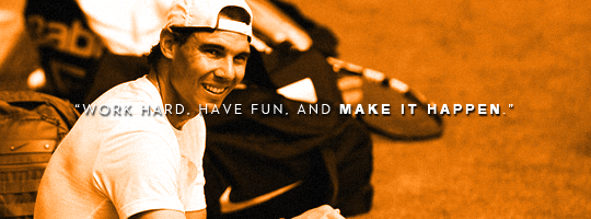 If Rafael Nadal Quotes Were Motivational Posters