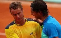 Rafa Nadal says goodbye to Lleyton Hewitt