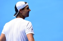 Rafael Nadal during a practice session, 15 January 2016. - Ben Solomon/Tennis Australia