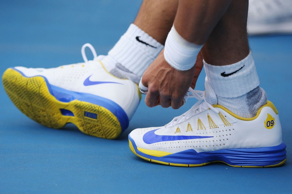 Post Close Up Pictures Of Pros Shoes Page 11 Talk Tennis
