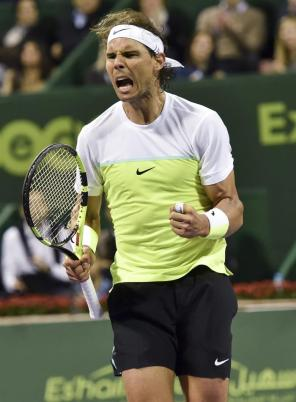 Rafael Nadal beats Andrey Kuznetsov to reach Qatar Open semi-finals (2)