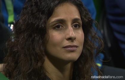 Rafael Nadal girlfriend Maria Francisca Perello Doha Qatar Open 2016 photo