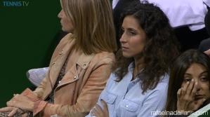 Rafael Nadal girlfriend Maria Francisca Perello in Doha SF Qatar Open 2016